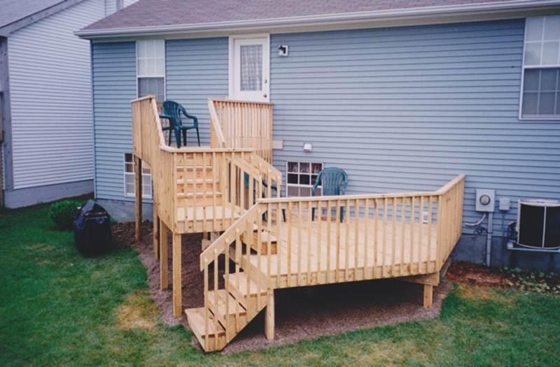 composite deck composite decking columbus ohio. Black Bedroom Furniture Sets. Home Design Ideas