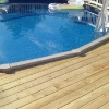 Custom Deck with Pool