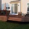 Walk-out deck