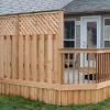 Custom Deck with Privacy panels