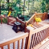 Deck with Gate for safety