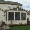 Screened Porches with Sliding Vinyl