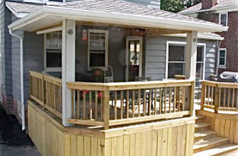 Suncraft Open Porch Entry Porch Front Porch Wrap