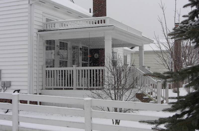 6 Wonderful Flat Roof Porch Designs Home Building Plans