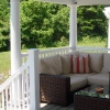 Open Porches with Railing