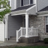 Built in Open Porch