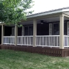 Open Porch with railing