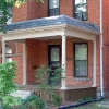 Porch addition on Brick House