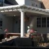 Unique custom porch addition