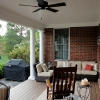 Open Porch with Ceiling Fan