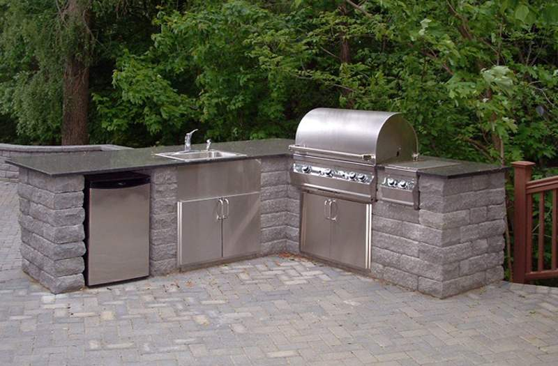 Brick Pavers · Outdoor Kitchen Addition Columbus Ohio