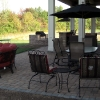 Paver Patio with built in grill