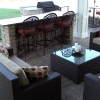 Paver Patio with Bar