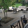 Paver Patio with Tree