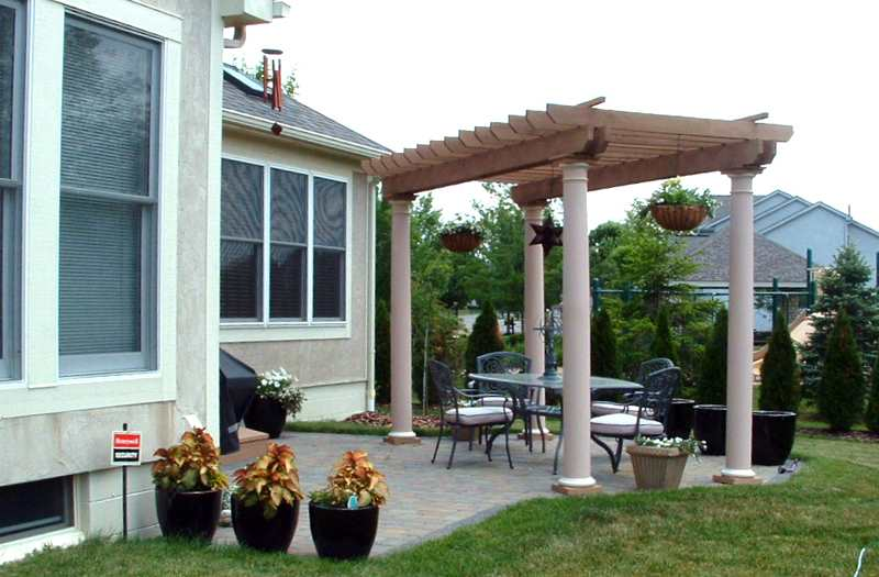 Pergola/Trellis Builder Columbus Ohio for Deck Shade & Cover SUNCRAFT