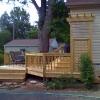 Deck with Trellis