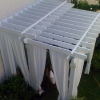 Pergola with Curtains