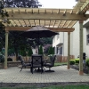Custom Pergola with cross beams