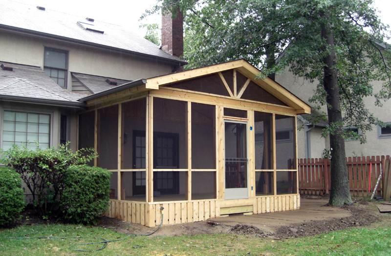 Screened Porches Columbus Ohio Custom Built Screen Rooms