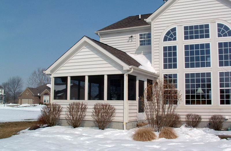 Flat Roof Screen Room : Screened porches columbus ohio custom built screen rooms