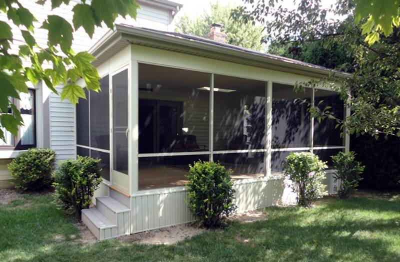 outdoor screen porch addition - Outdoor Screened Porches