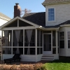 Matching Screened Porch in Columbus