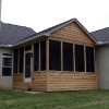 Wood Siding Screen Porch