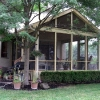 Deck converted Screen Porch