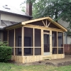 Simple Screened Porch Addition