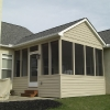 Simple screened porch additions