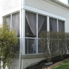 Built in Screen porch
