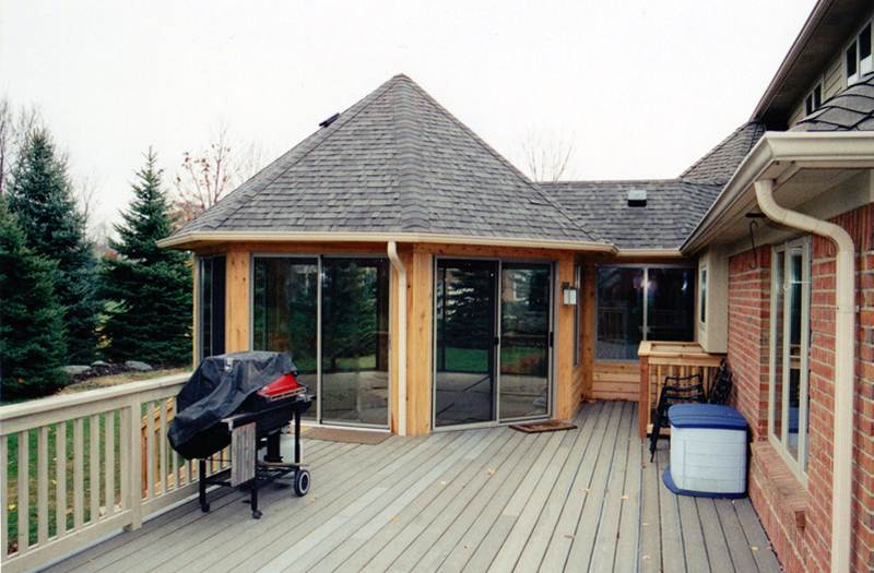 4 Season Sunroom Exterior