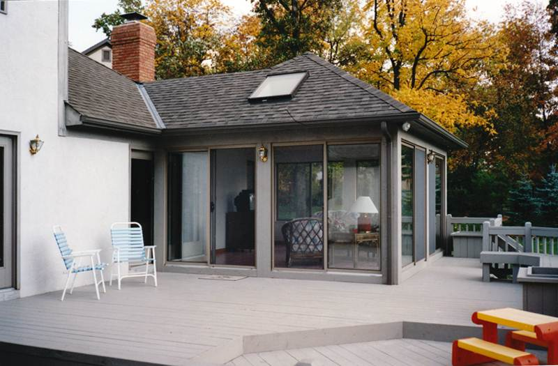 mesmerizing living room addition gable roof | Sunrooms Columbus Ohio - 3 Season Room, 4-Season Room