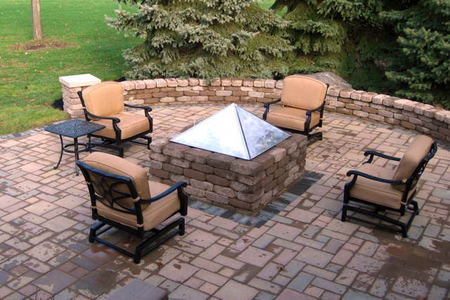 paver patio with fire pit designs patio with fire pit ideas outdoor